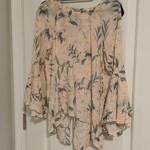Lauren Conrad floral top.